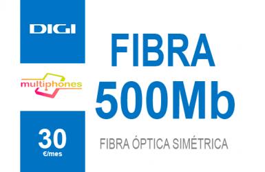 Digi net – FIBRA 500Mb por 30€/mes