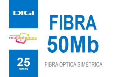Digi Net – FIBRA 50Mb 25€/mes