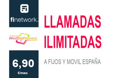 Finetwork Llamadas Ilimitadas 6,90€