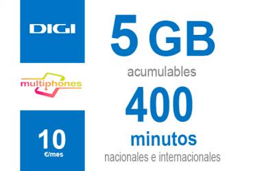 Digi Combo 5GB por sólo 10€/mes