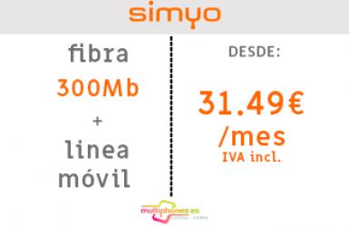 SIMYO FIBRA 300MB
